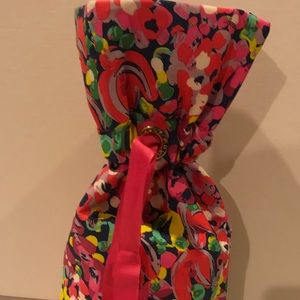Lilly Pulitzer Tote wine bag travel hostess gift